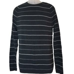 Banana Republic Striped Crew Neck Sweater